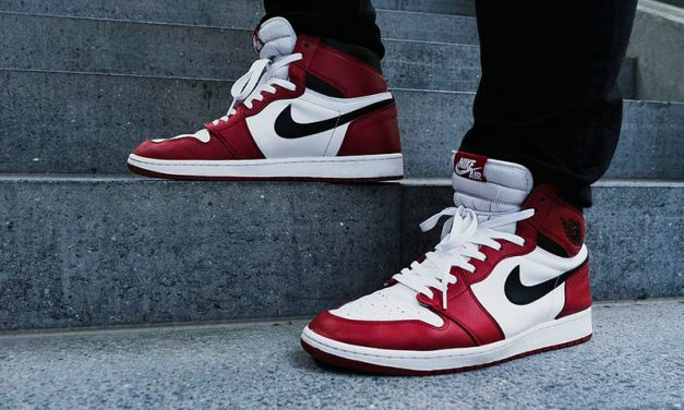 Air jordan 1 Chicago rosse e bianche